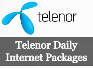 Telenor Daily / 1-Day / 24 Hours Internet Packages