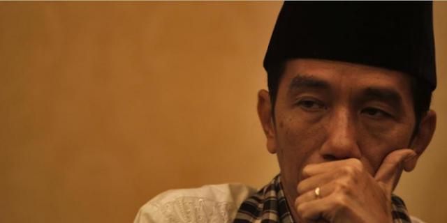 Elektabilitas Jokowi Turun Terus