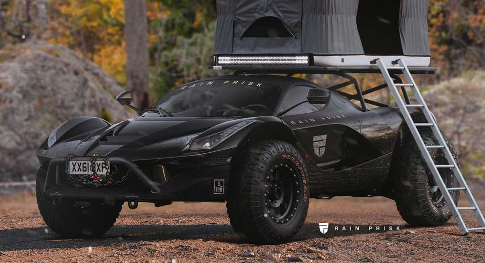 Converting Laferrari Into A Virtual Off Road Camper Is Our