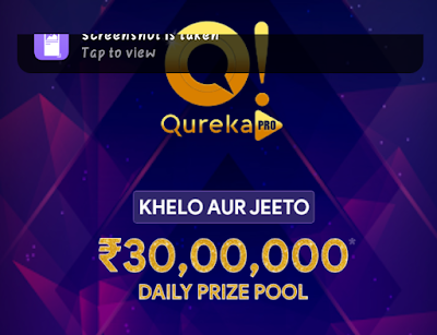 Qureka pro App refer earn