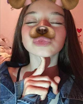 selfies tumblr filtro perrito