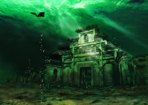 ShiCheng, la ciudad sumergida en China