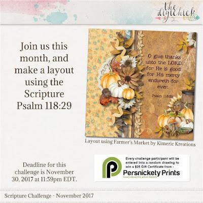 November Scripture challenge