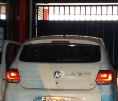 Corumbataí do Sul: Carro Oficial é flagrado saindo de motel