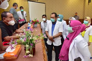 Gubernur Edy Minta Tenaga Medis Tetap Jaga Kesehatan dan Waspada