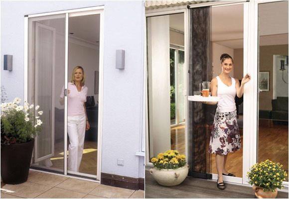 Marzua tipos de mosquiteras para puertas y ventanas for Mosquitera por metros