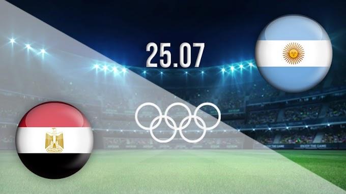 مشاهدة مباراة مصر والارجنتين بث مباشر اليوم 25/07/2021 الالعاب الاوليمبية