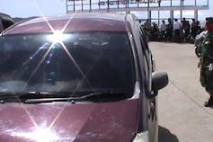 Hari Pertama Dibuka, 1 Mobil Diamankan 5 Orang Dari Zona Merah Dikembalikan Ke Bira