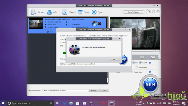 Review Giveaway WinX HD Video Converter Deluxe - Tech Hijau™