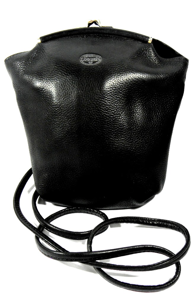 Vintage Fossil Hipster Bag