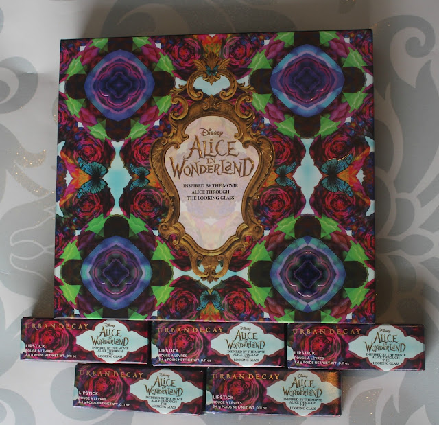 Photograph of Urban Decay Alice Through the Looking Glass Collection packaging