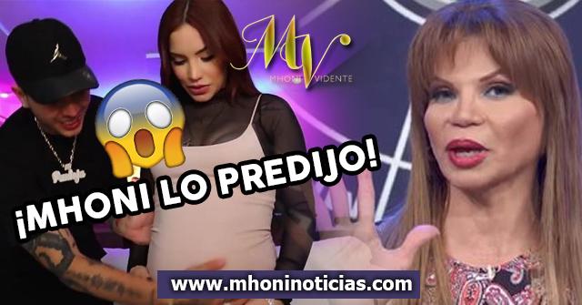 Mhoni lo predijo; ¡Kimberly Loaiza está embarazada!