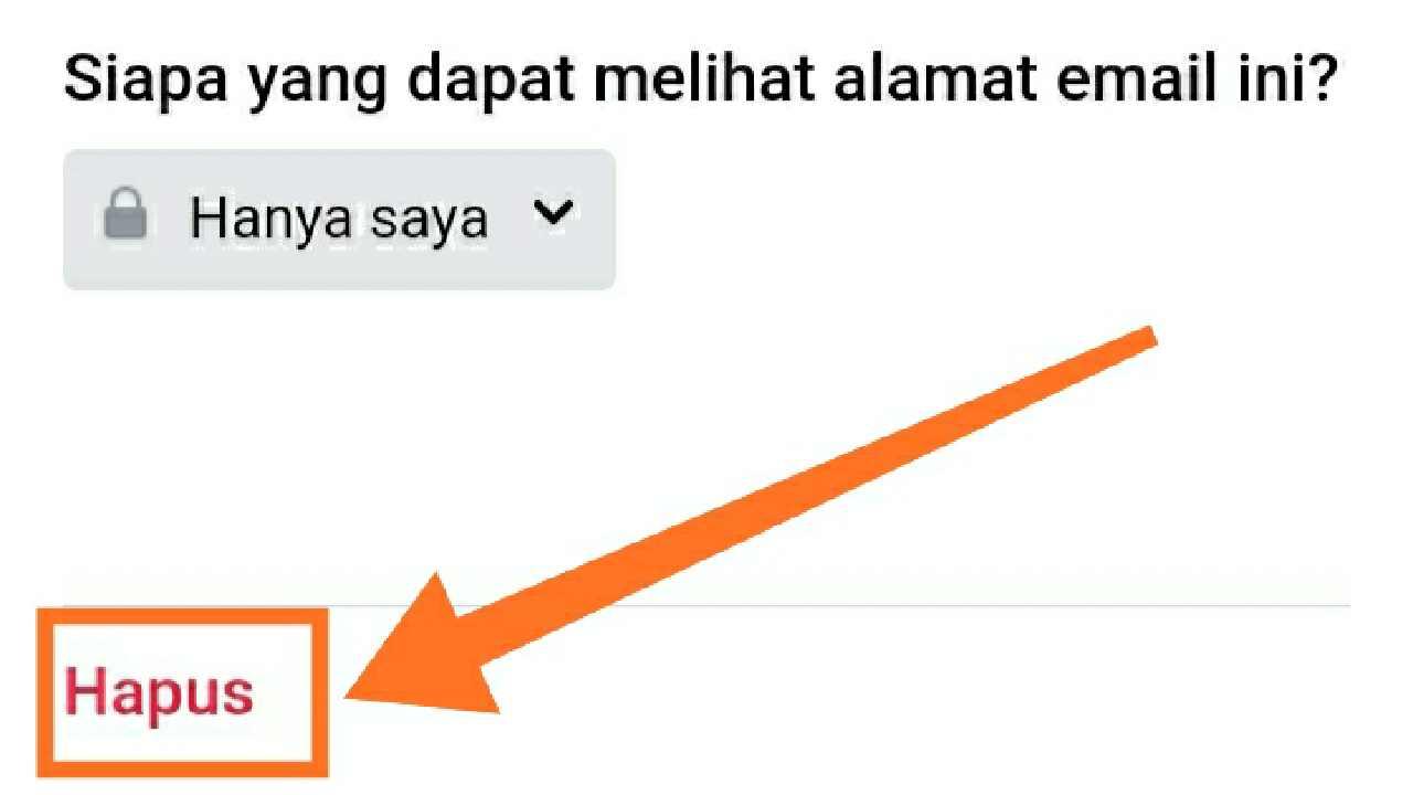 Bisakah FB ganti email?