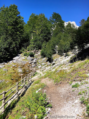 Trek de Valbona à Theth au nord de l'Albanie
