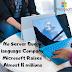 No Server Query language Company Microsoft Raises 2018