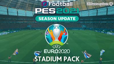 PES 2021 Full Stadium Pack EURO 2020