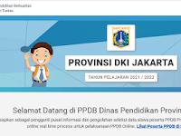 Pengumuman Seleksi PPDB Online SD,SMP,SMA TA 2021/2022