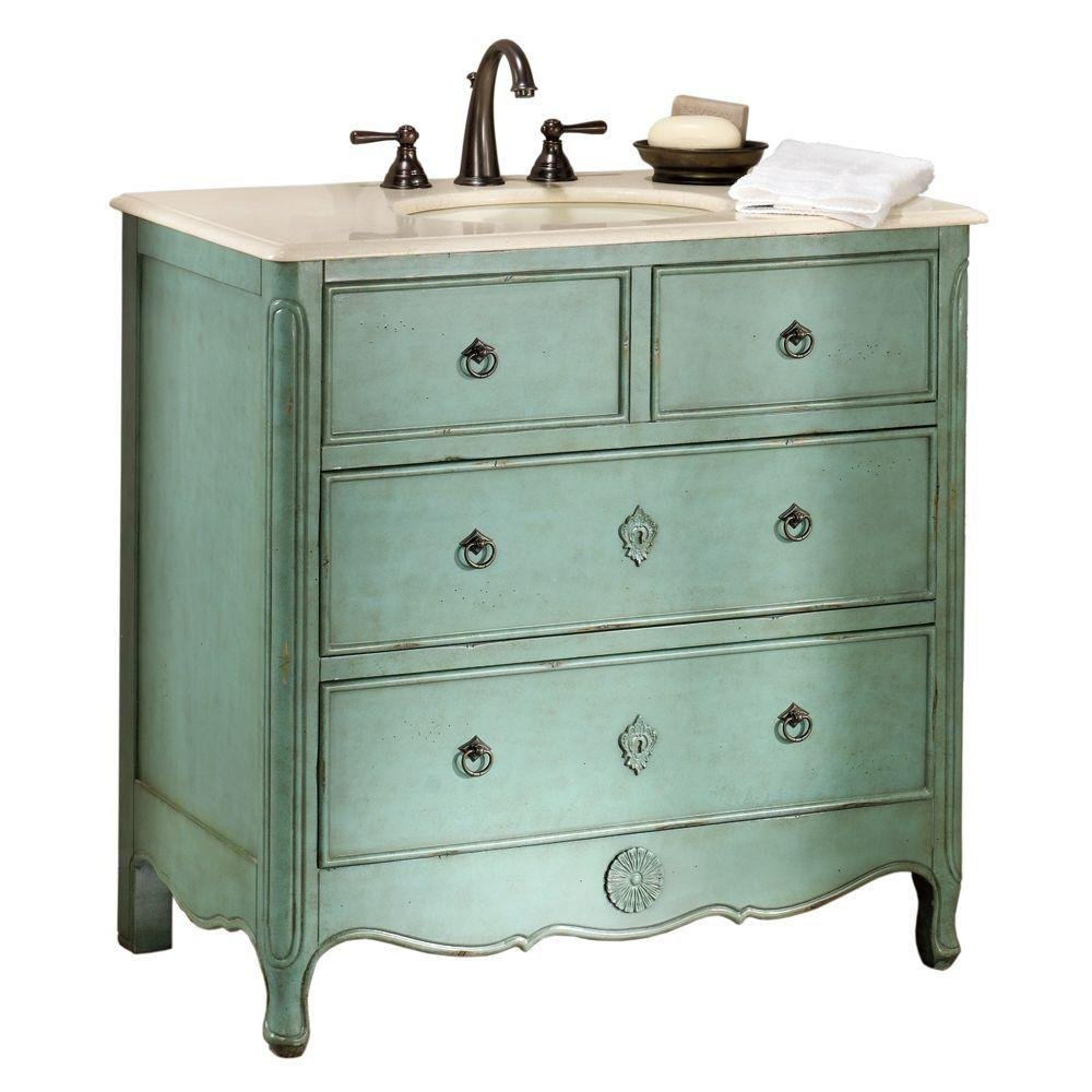 Bathroom Vanities From Old Dressers: Postcards From The Ridge: Bathroom Inspiration