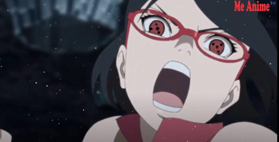 Kekuatan Sharingan Sarada Sudah Tiga Tomoe di Manga