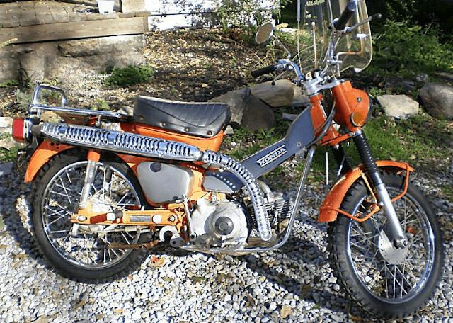 1972-1973 Honda CT90