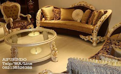 Sofa tamu classic mewah jakarta-Toko Mebel jati klasik-toko jati-Furniture Klasik Mewah-Jual sofa tamu classic mewah Cat Putih-JUAL MEBEL FURNITURE JEPARA,MEBEL INTERIOR KLASIK,MEBEL KLASIK UKIRAN JATI DUCO FRENCH VINTAGE