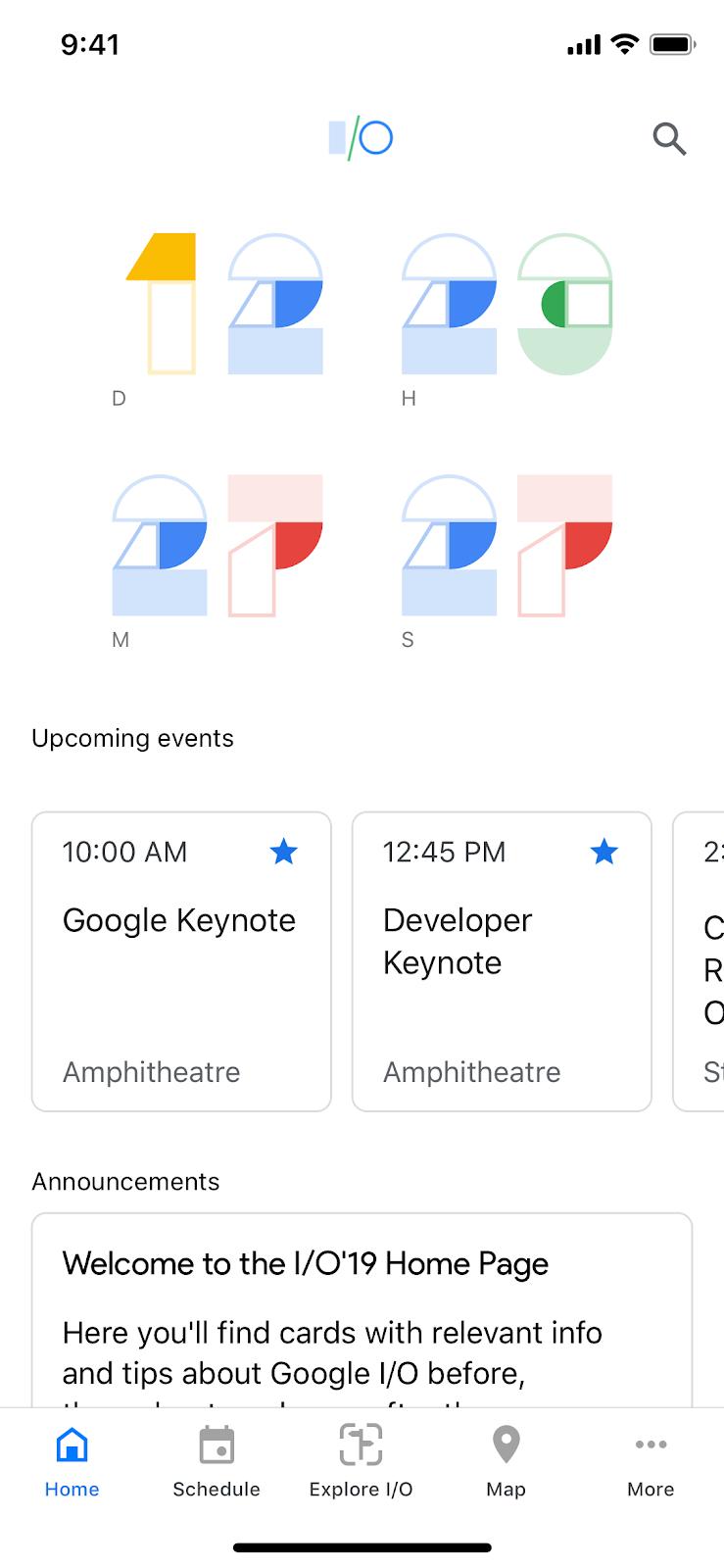 Google Developers Blog: The official Google I/O 2019 app is live