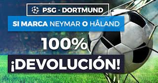 Paston promocion PSG vs Dortmund 11 marzo 2020