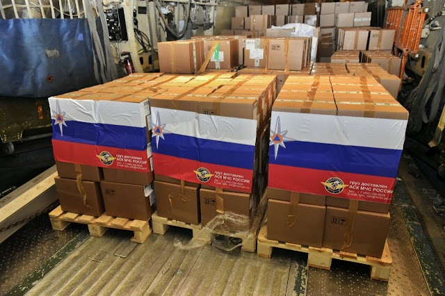India-Russia, Ventilator-22 tons of medicine, 2 Russian planes landed in Delhi with huge medical supplies