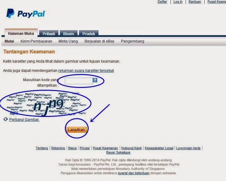 Mendaftar PayPal Terbaru