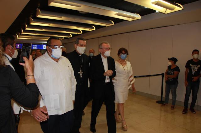 Llega Pietro Parolin para la ordenación episcopal de monseñor Sosa Rodríguez