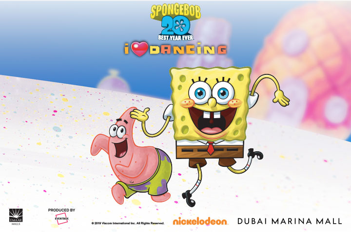 NickALive!: Dance with SpongeBob at Dubai's Marina Mall this Dubai