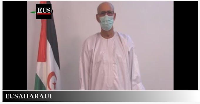 Ghali zanja las especulaciones sobre su estado de salud.