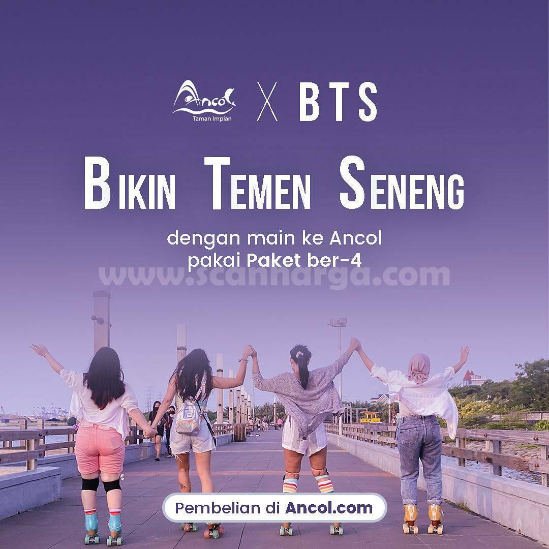 Promo Ancol BTS Paket Ber4 hanya Rp. 100.000 1