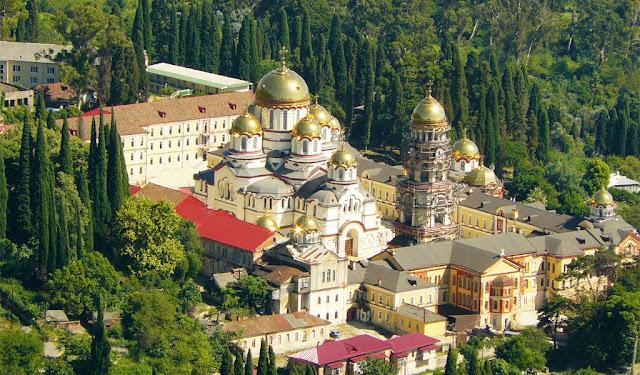 Новоафонский Монастырь на Кавказе