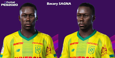 PES 2020 Faces Bacary Sagna by Milwalt