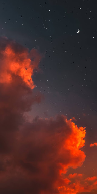 Magnificent night sky
