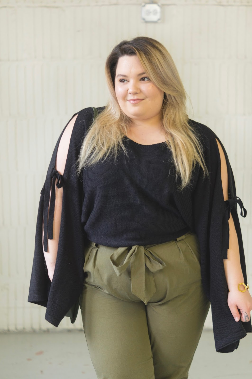 plus size fashion, affordable plus size clothing, natalie craig, Chicago plus size model, plus model magazine. skorch magazine, eff your beauty standards, fatshion, cargo pants, fashion nova curve, plus size cargo pants, petite plus, short plus size women, natalie in the city