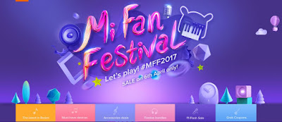 Xiaomi Mi Fan Festival on April 6