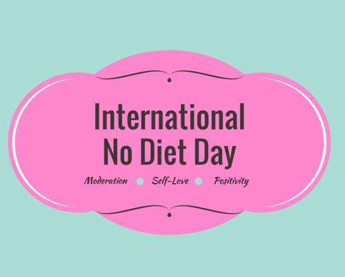 International No Diet Day Wishes for Whatsapp