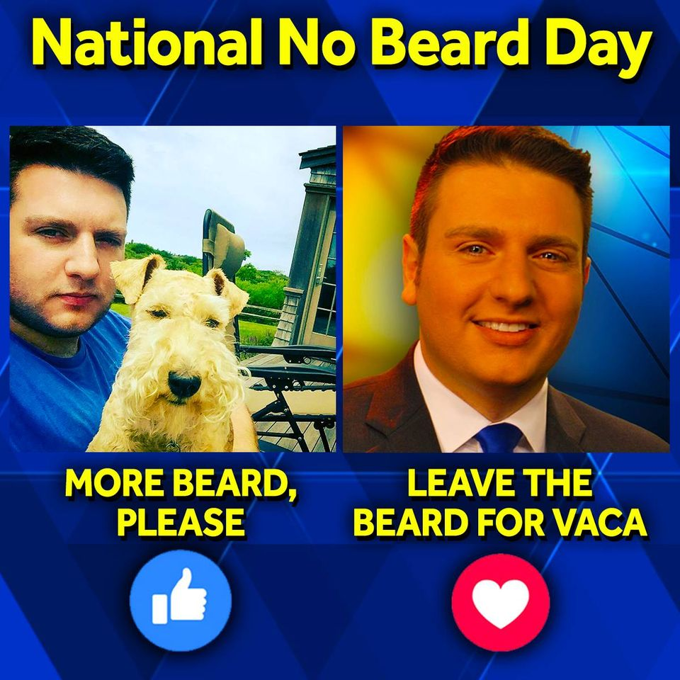 National No Beard Day Wishes Beautiful Image