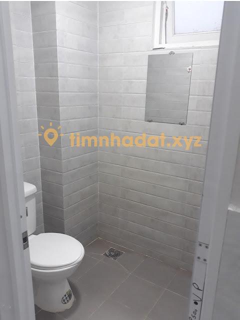Phòng vệ sinh của phòng trọ cho thuê Tân Bình