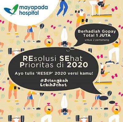 Kuis Resolusi Sehat Prioritas Di 2020 Mayapada Berhadiah Gopay 1 Juta