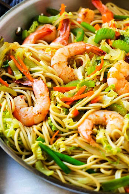 Shrimp Chow Mein -2