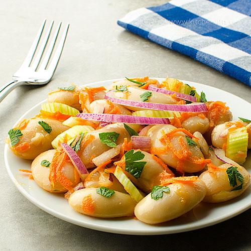 Italian Corona Bean Salad