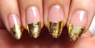 Gold Foil Tips