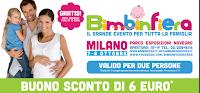 Logo Bimbinfiera: stampa il coupon e risparmia per l'evento di ottobre