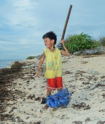 Puro Beach Pinget Island Magsingal Ilocos Sur Philippines