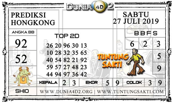 """Prediksi Togel """"HONGKONG"""" DUNIA4D2 27 JULI 2019"""