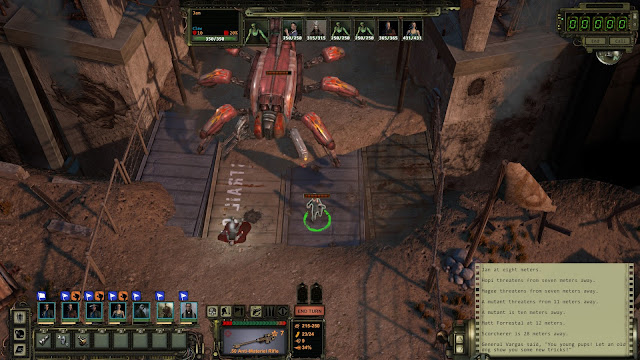 Screenshot from Wasteland 2