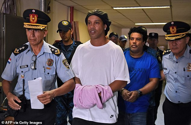 Brazil legend, Ronaldinho released from Paraguayan prison and placed under house arrest after serving 32 days